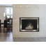 Pinnacle Masonry Fireplace Door - Matte Black main frame with Antique Door Stiles