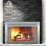 Sentry Premiere Fireplace Door in Satin Nickel