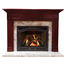Hampton Mantel - shown here in Cherry with a cordovan finish