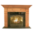 Kennedy Mantel - shown here in Oak with a fruitwood finish