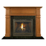 Kingscote Mantel - shown here in Cherry with a fruitwood finish.