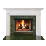 Vinland Mantel - shown here painted in white