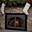 Blacksmith Arch Conversion Zero Clearance Fireplace Door - Vintage Iron