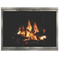 Shiloh Zero Clearance Fireplace Door With Pewter Overlay