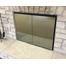 Odyssey Fireplace Door with Solar Cool Bronze Reflective Glass