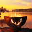 Antlers Wood Burning Fire Pit 36 Inches