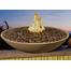 48 inch round Marseille fire bowl