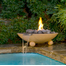 40 inch round Versailles concrete fire and water bowl