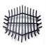 27 Inch Hexagon Carbon Steel Fire Pit Grate