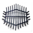 38 Inch Hexagon Carbon Steel Fire Pit Grate
