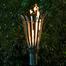 Basket Style Stainless Steel Tiki Torch