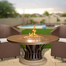 Round Fiesta Fire Table 54 Inch