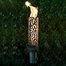 Honeycomb Stainless Steel Tiki Torch
