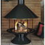Malm Imperial Carousel Fireplace on porcelain base