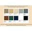 Finish options for the malm zicron wood burning fireplace 34 inch