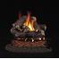 16 Inch RealFyre Rustic Oak Designer Reduced Depth Vented Gas Log Set