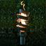 Spiral Style Stainless Steel Tiki Torch