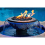 Evolution 360° Copper Fire And Water Fountain manifold