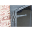 Forged Steel Laramie Arch Conversion ZC Fireplace Door hinge detail