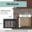 Medium Ardmore Fireplace Door
