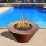 Mesa Fire Bowl With Lava Rock