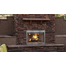Superior WRE3036 wood outdoor fireplace set with chimney pipe