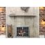 The Edison Masonry Fireplace Door installed!