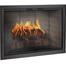 Rustic Black Brookfield Zero Clearance Fireplace Door