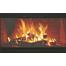 Norwegian Zero Clearance Fireplace Door in Black With TWO SPACER trims installed