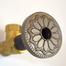 Beachnut Bronze Flange Cover with Hermosa Design on Escutcheon