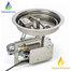 HPC 13 Inch Round Bowl Hi/Lo Electronic Ignition Fire Pit Insert
