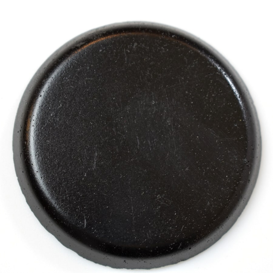 Black Standard Color colorant for concrete fire bowls.