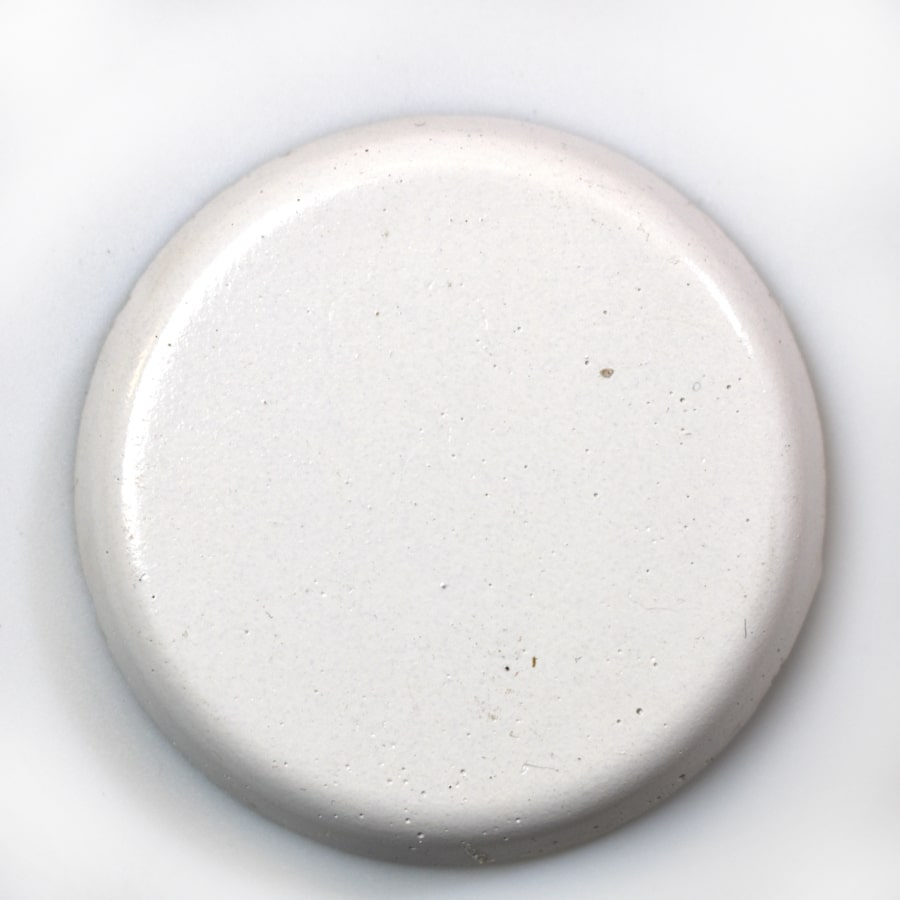 White Limestone Standard Color colorant for concrete fire bowls.